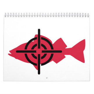 Fischenjägerfadenkreuze Abreißkalender