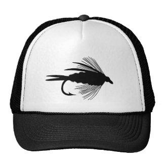 Fischenköder der schwarzen Fliege Kultkappe