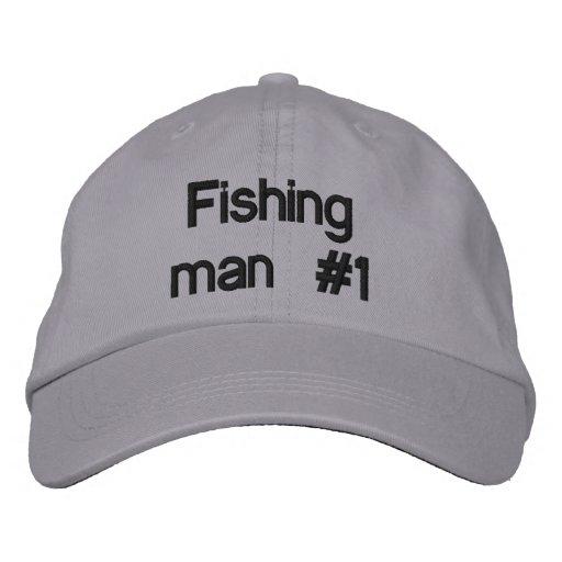 Fischenmann #1 bestickte caps