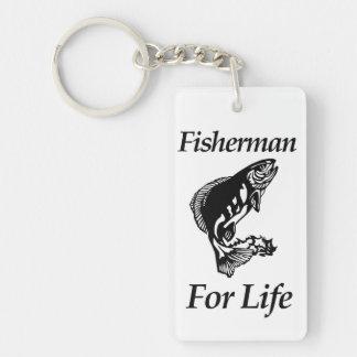 Fischer für das Leben Schlüsselanhänger
