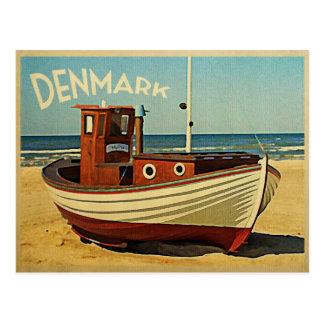 Fischerboot Dänemarks Postkarte