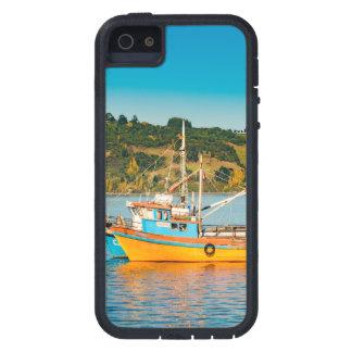 Fischerboot in See, Chiloe, Chile Hülle Fürs iPhone 5