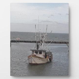 Fischerboot-Ozean-Charter Fotoplatte