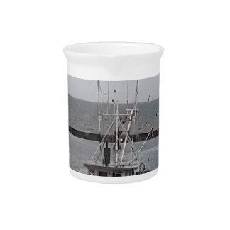 Fischerboot-Ozean-Charter Getränke Pitcher