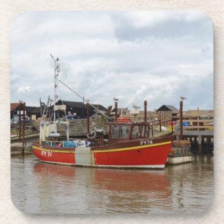 Fischerboot-Wassermann bei Southwold Untersetzer