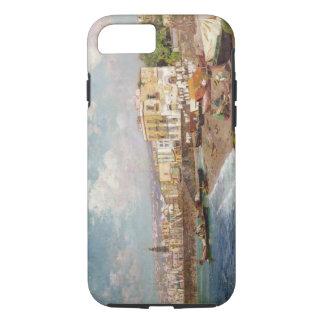 Fischerboote auf dem Strand bei Marinella, Neapel iPhone 8/7 Hülle