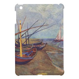 Fischerboote auf dem Strand durch Vincent van Gogh iPad Mini Hülle