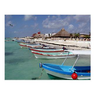 Fischerboote Postkarte