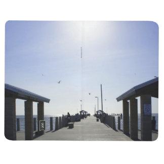 Fischerei am Pier Taschennotizbuch
