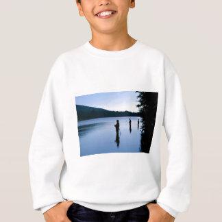 Fischerei am Tagesanbruch Sweatshirt