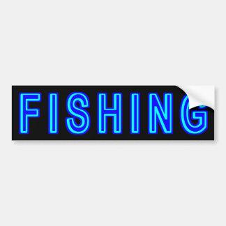 Fischerei Autoaufkleber