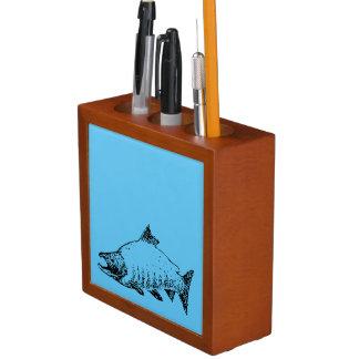 Fischerei des Speichers Stifthalter