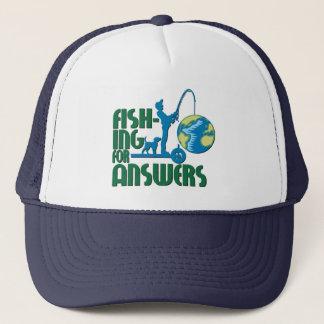 Fischerei für Antwort-Hut Truckerkappe