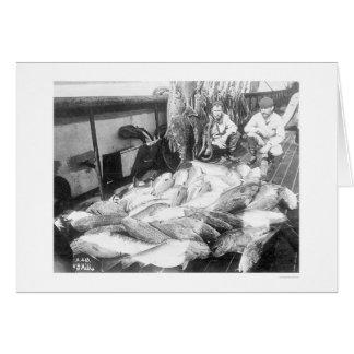 Fischerei in Alaska 1922 Grußkarten