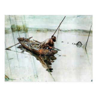 Fischerei mit Netzen 1905