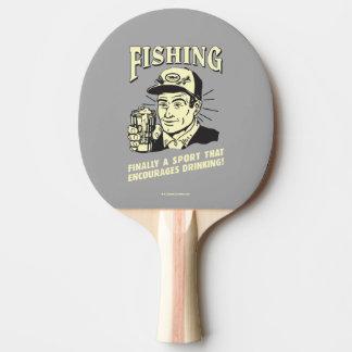Fischerei: Sport regt das Trinken an Tischtennis Schläger