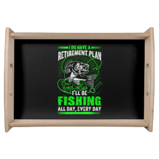 Fischerei Tablett