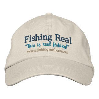 Fischerei wirkliche Waren (Kappe) Bestickte Kappe