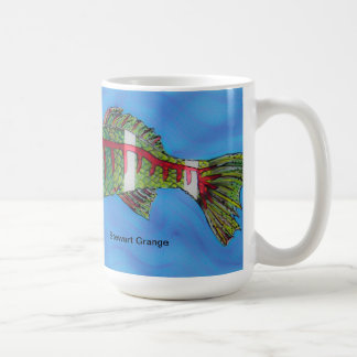 Fischfilet Minnesota 2012 durch Stewart-Gutshof Kaffeetasse