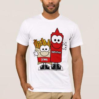 Fischrogen und Ketschup-Shirt T-Shirt