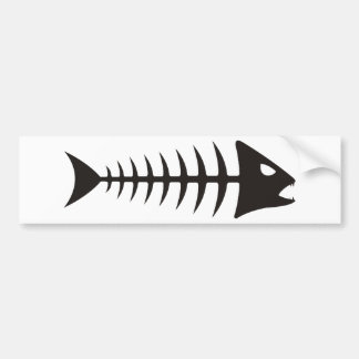 Fishbone - Fischgräte Autoaufkleber
