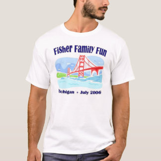 Fisher-Familien-Spaß T-Shirt
