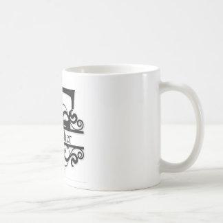 Fisher-Monogramm Kaffeetasse