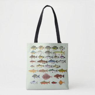 FishFolkArt Tasche