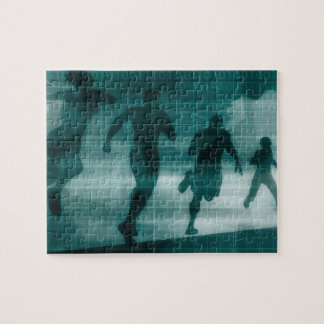 Fitness-APP-Verfolger-Software-Silhouette Puzzle