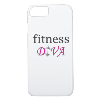 Fitness-Diva iPhone 7 Fall iPhone 8/7 Hülle