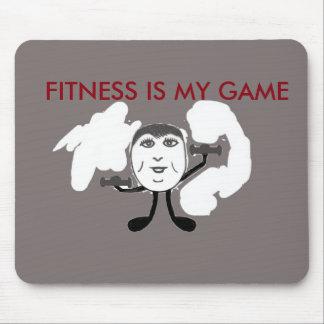 Fitness, Gewichts-Anhebenmotivator-Mausunterlage Mousepads