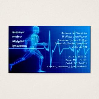 Fitness-Lehrer Visitenkarten