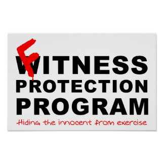 Fitness-Schutz-lustiges Plakat