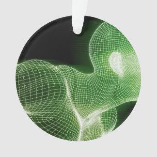 Fitness-Technologie-Wissenschafts-Lebensstil als Ornament