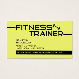 Fitness-Trainer-Geschäfts-Karte Visitenkarte