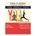 Fitness-Übung Pilates Yoga-modernes Flyer