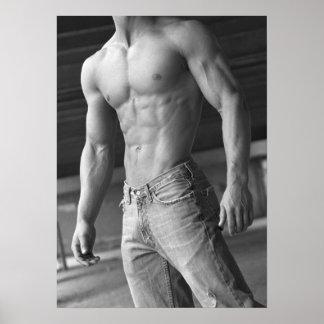 Fitness-vorbildliches Plakat #13