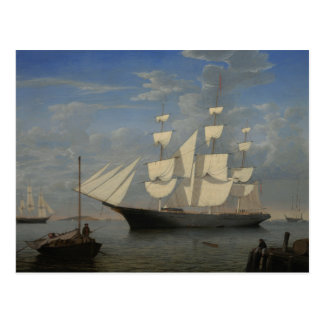 Fitz Henry Weg - Starlight im Hafen Postkarte