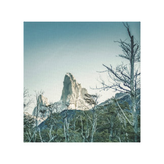 Fitz Roy Berg, Patagonia - Argentinien Leinwanddruck