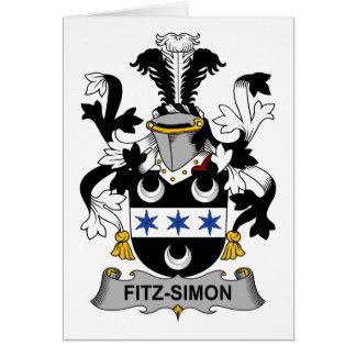 Fitz-Simon Familienwappen Karte