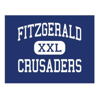 Fitzgerald Kreuzfahrer-Mitte Mankato Postkarte