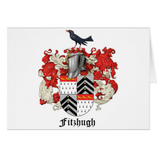 Fitzhugh Familien-Wappenkunde - 2 Karte