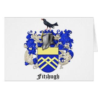 Fitzhugh Familien-Wappenkunde-Karte Karte