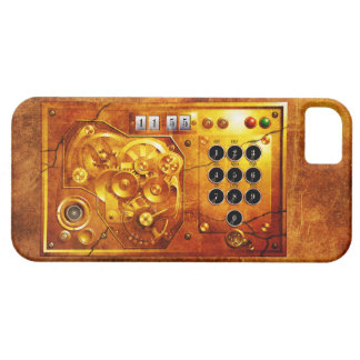 Five to of 12 Steampunk clock Grunge Barely There iPhone 5 Hülle
