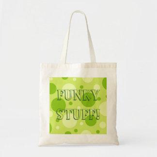 Fizzy Zitrone Limon, Funky Material! Einkaufstaschen