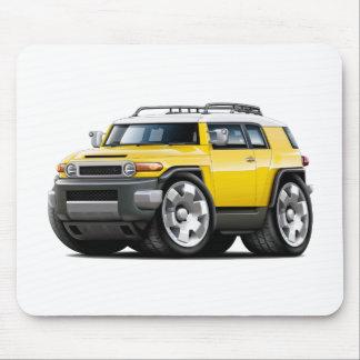 FJ-Kreuzer-Gelb-Auto Mousepad