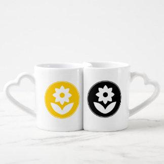 FʟᴏᴡPᴏᴡ *ʟᴏɢᴏ | Gelb u. Schwarzes ~ die Tassen