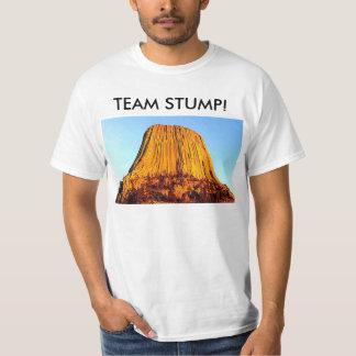 Flache Erde hat den T - Shirt keiner