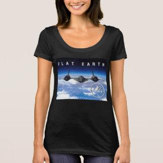 Flache Erde SR71 -- Das T-Shirt der Frauen