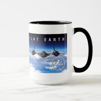 Flache Erde SR71 -- Ton der Tassen-zwei Tasse
